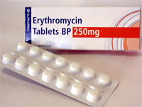 List all vegetables azithromycin