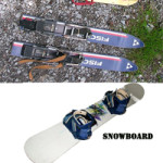 Difference Between Skiing and Snowboarding