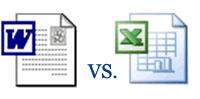 word-vs-exel