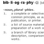 Difference Between Works cited and Bibliography