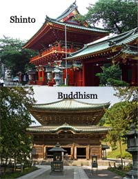 "shinto and buddhism essay Confucianism attempts to solve the problem of evil by teaching people to adhere an  the taoist believes that ""always without desire we must be found"" cf buddhism."