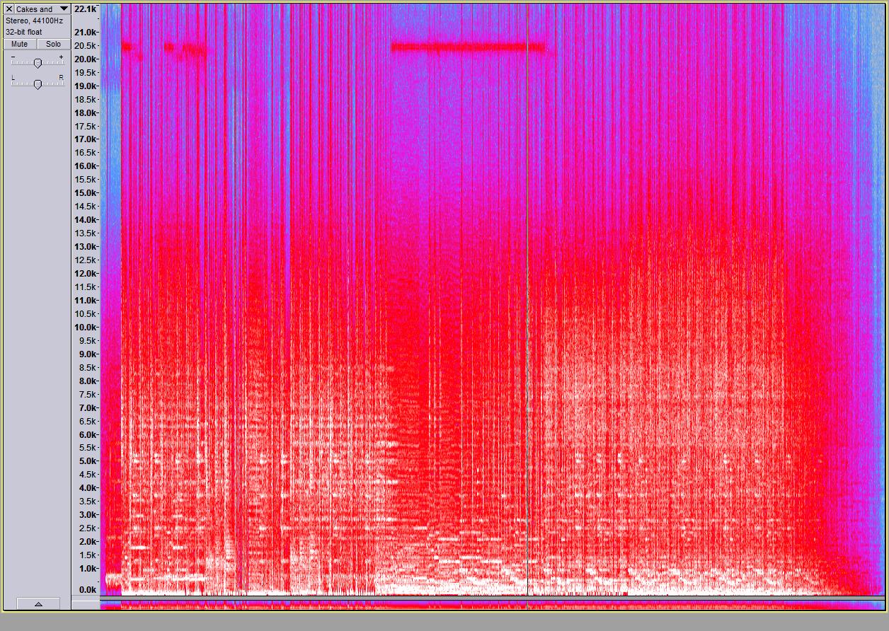 Spectogram FLAC
