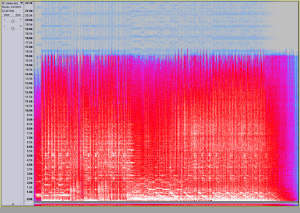 Spectogram MP3