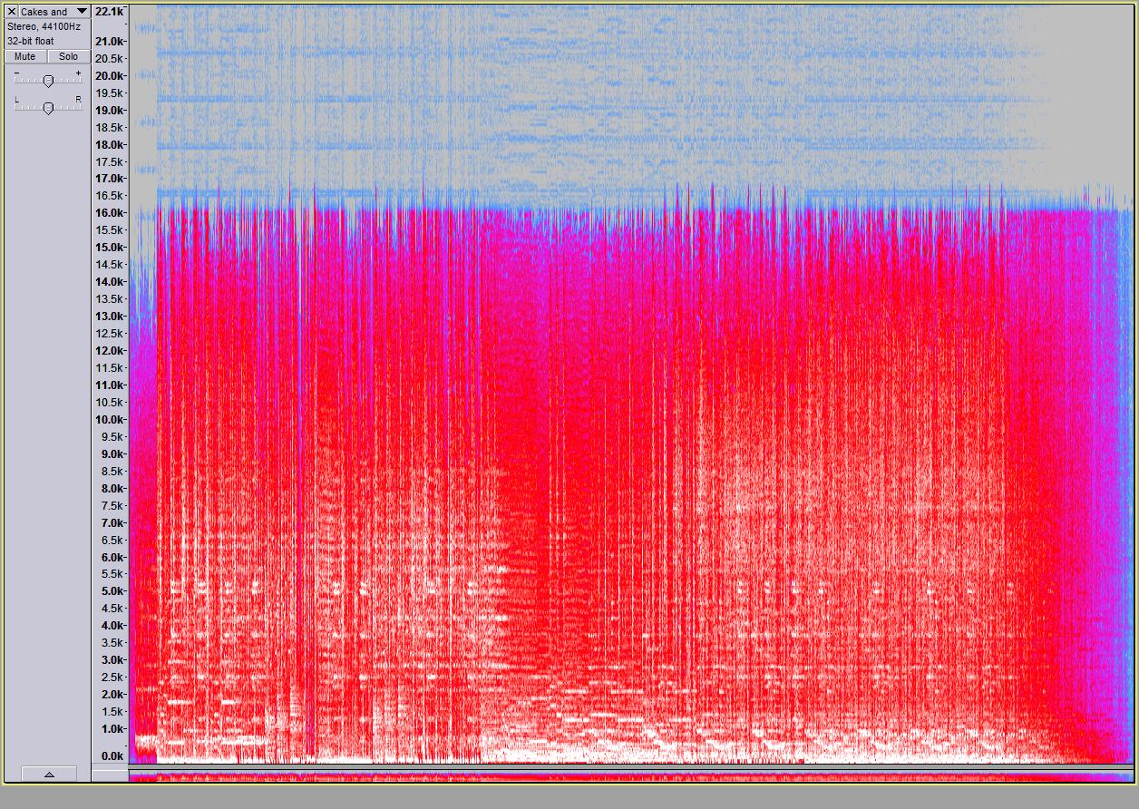 Spectogram MP3