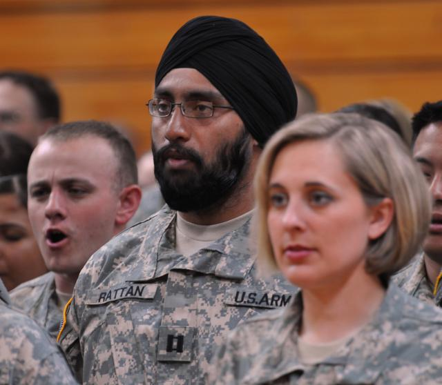 Sikh Army Captain Tejdeep Singh Rattan