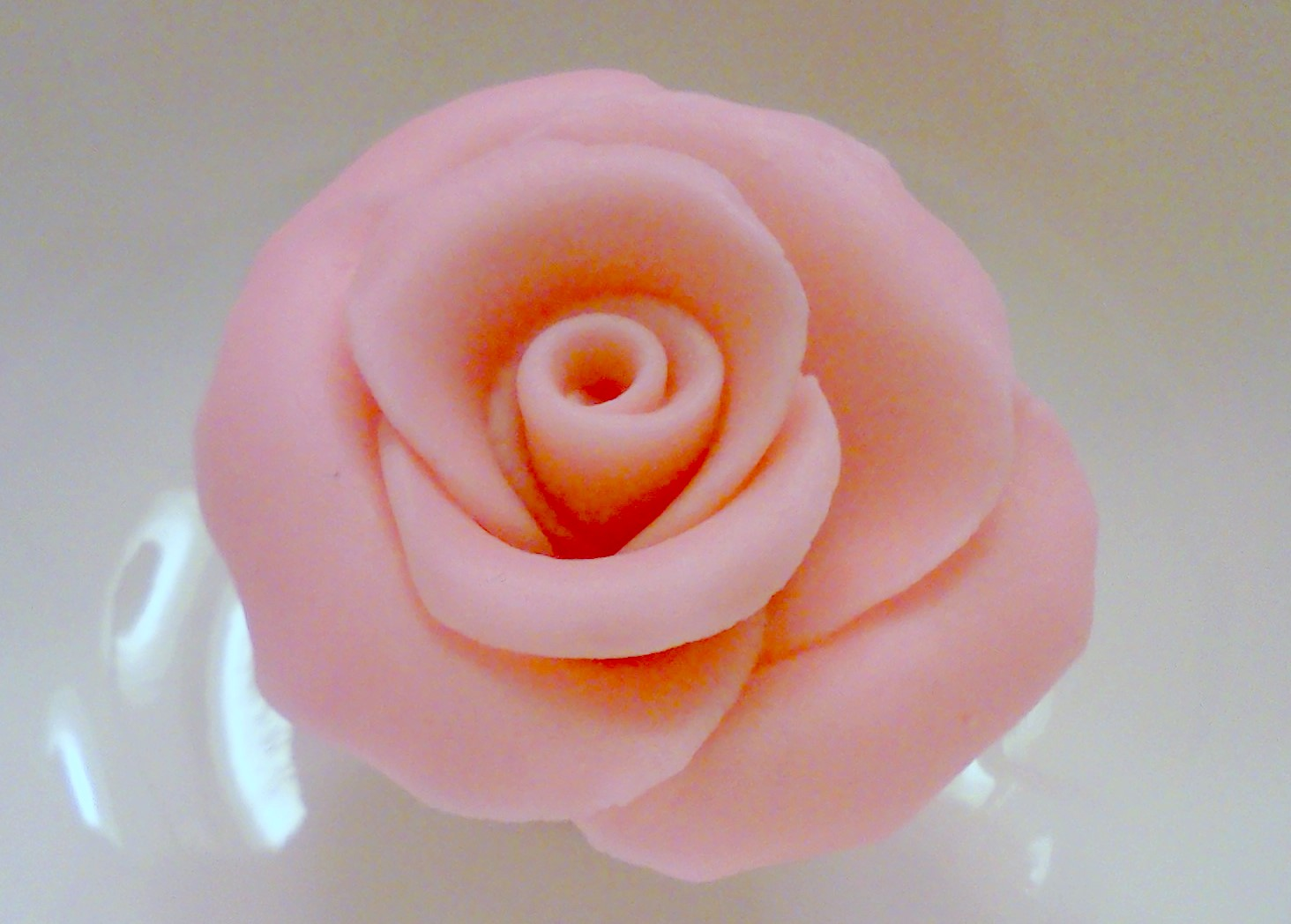 Fondant Rose