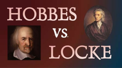 how did hobbes view human nature