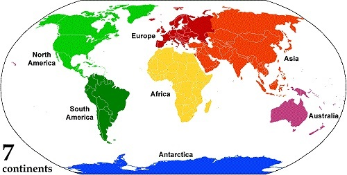 Difference Between Island and Continent-1