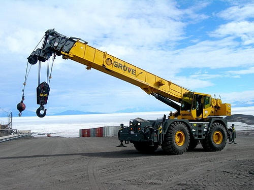 Difference Between Hydraulic Crane and Crawler Crane