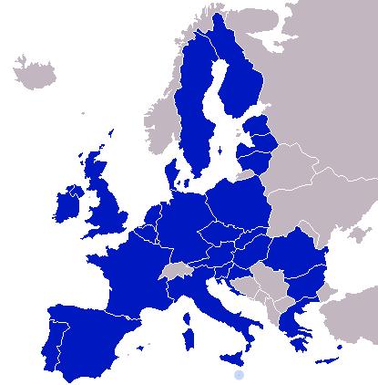 Europol map