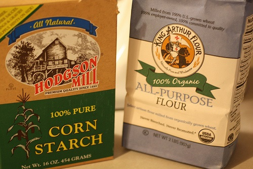 Difference Between Flour and Cornstarch