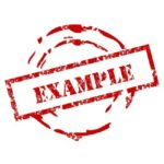 Difference Between Example and Sample