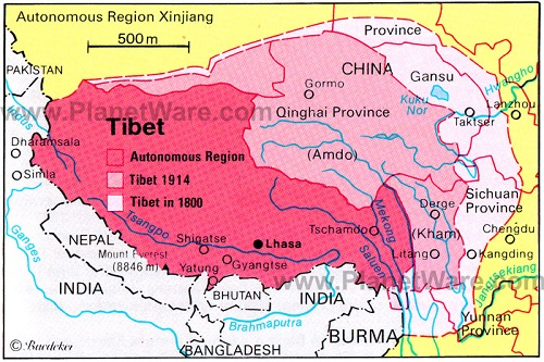 Difference Between Nepal and Tibet