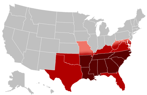 US southern States