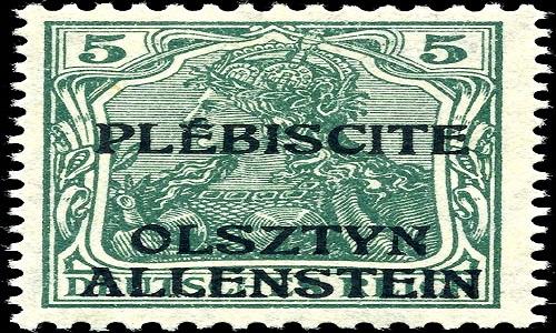 Stamp_Allenstein_1920_5pf