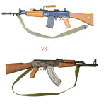 Difference between an AK-47 and an INSAS