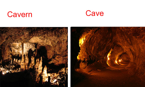 Cavern and Cave