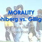 Difference between GILLIGAN and KOHLBERG CONTROVERSY