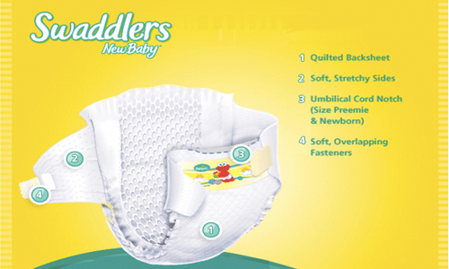 Swaddlers and Baby dry