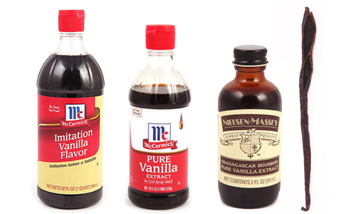 Vanilla essence extract difference