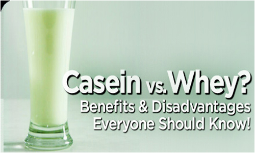 whey and casein