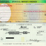 Difference between Cashier's Check and Money Order
