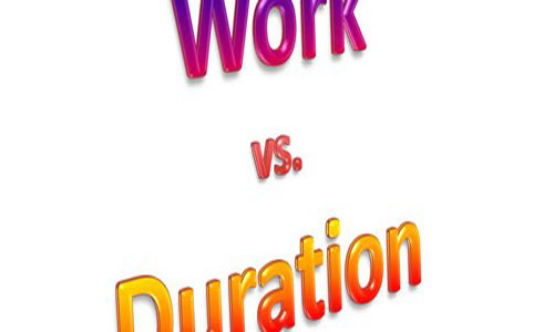 Duration and Work