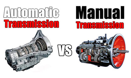 Manual And Automatic Transmission