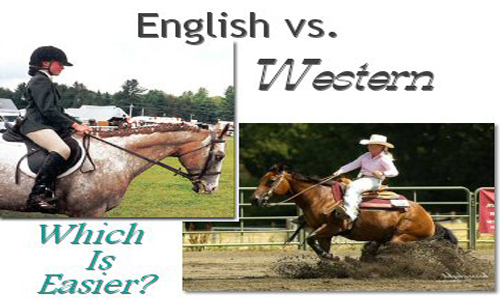 English and Western riding