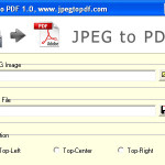 Difference between jpeg and pdf