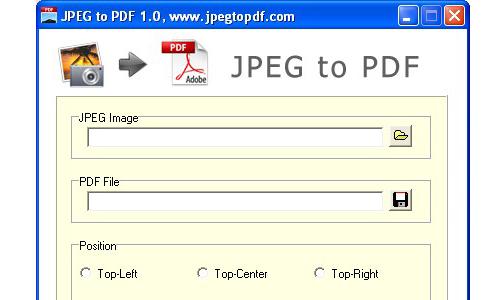 jpeg and pdf