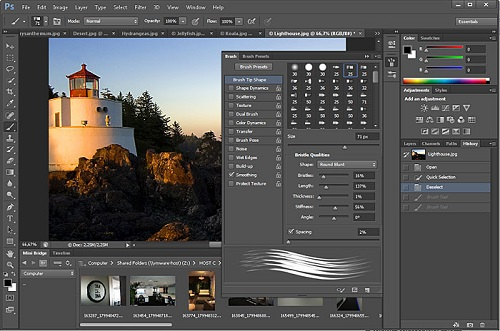 Difference between Lightroom and Photoshop