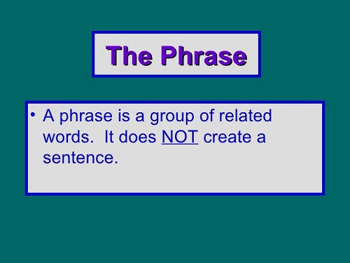 Difference between Phrase and Idiom