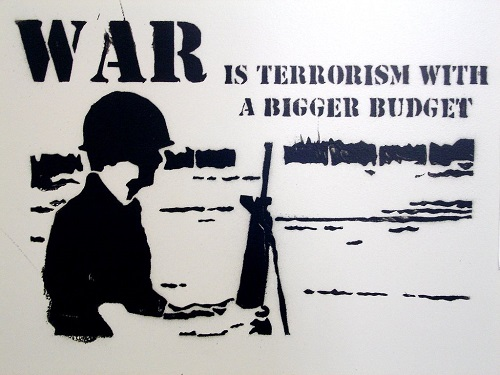 Difference between War and Terrorism