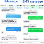 Difference between Texting and iMessage