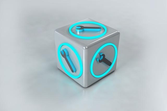 3d Modeling Box Symbol Illustration