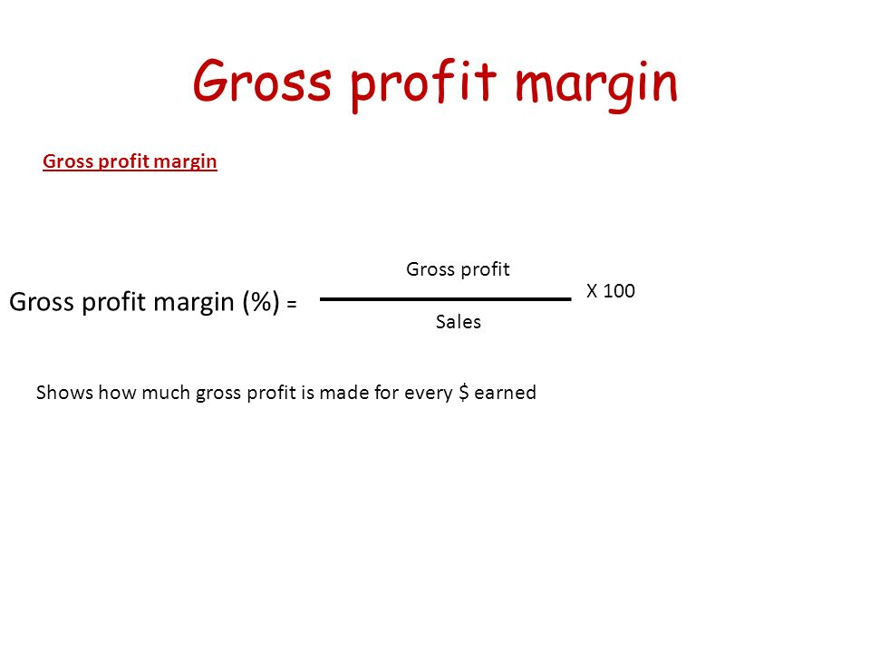 Difference Between Gross Profit and Gross Margin