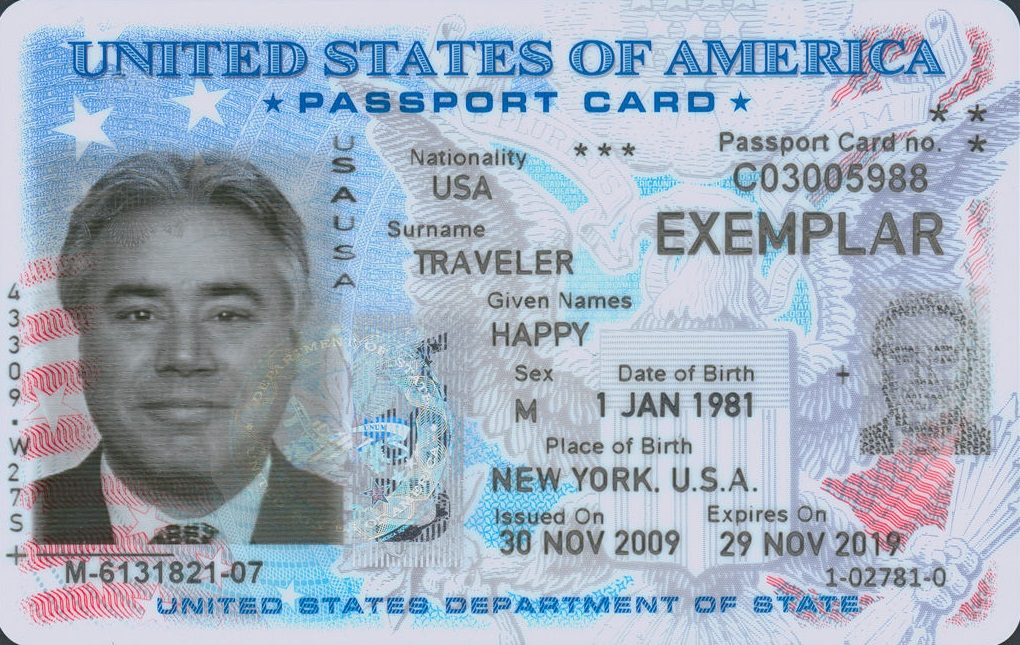 Difference Between a Passport Book and Passport Card
