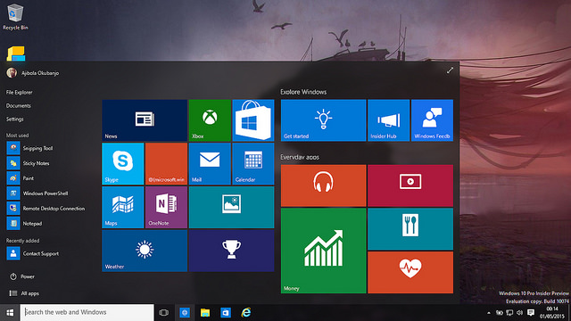 Difference between Windows 10 Home and Windows 10 Pro