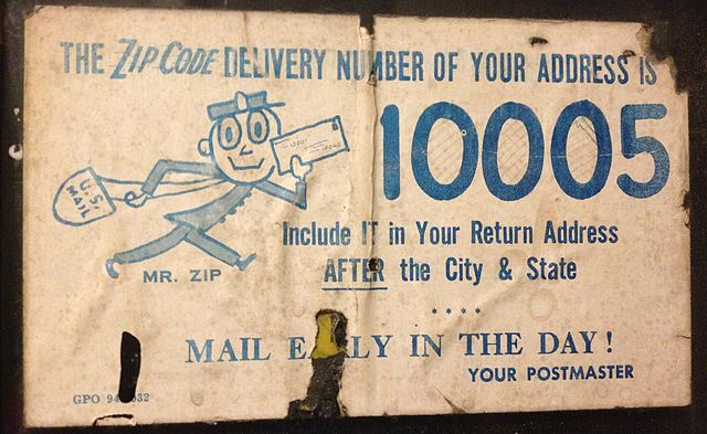 Difference between Zip Code and Postal Code