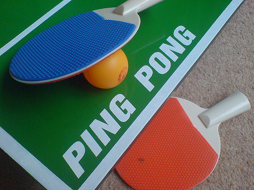 difference between ping pong and table tennis