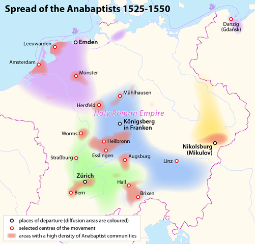 Difference Between Anabaptist and Baptist