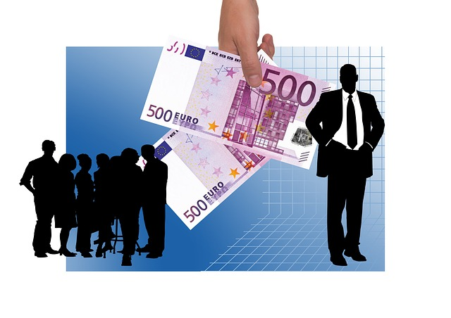Finance Remuneration Plan Business World Hand