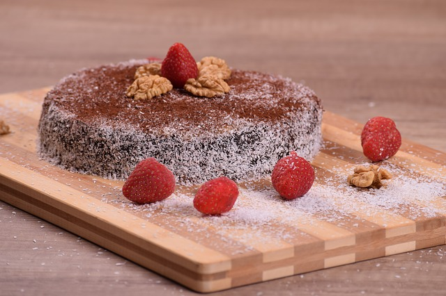 Cake Pastry Food Sweet Cream Sugar Fruit