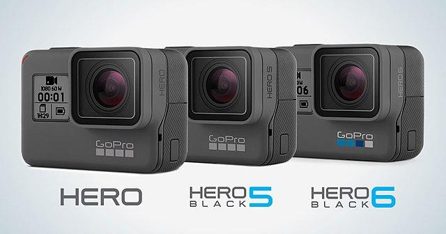 Difference Between GoPro Hero 5 and Hero 6