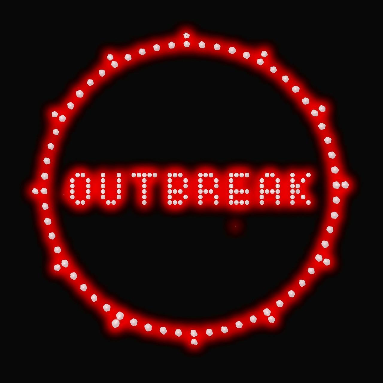 Outbreak Plague Epidemic Clock Virus District