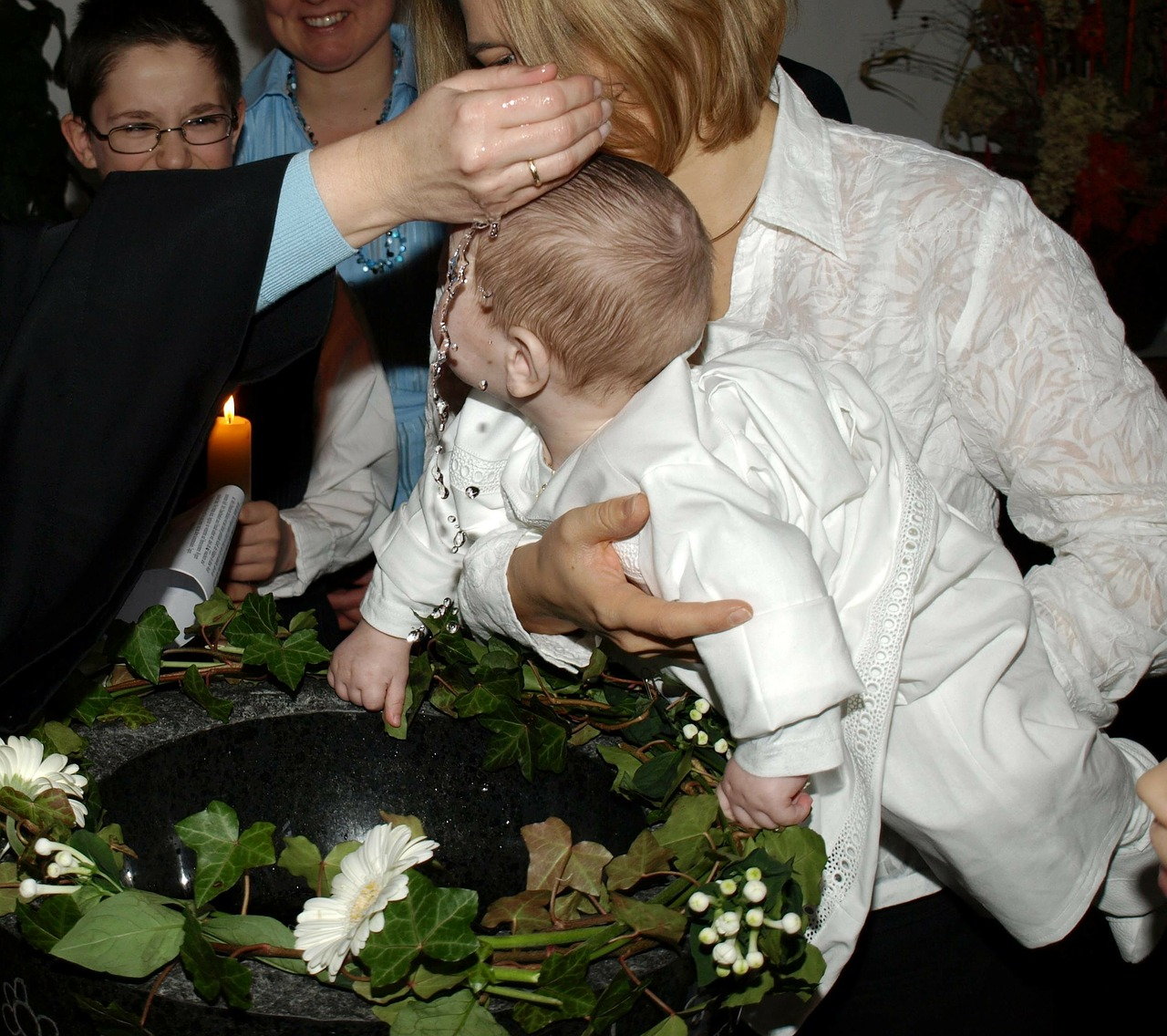 Christianity Believe Baby Child Baptism