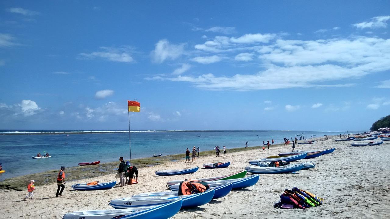 Asia Indonesia Ocean Beach Blue Sea Bali