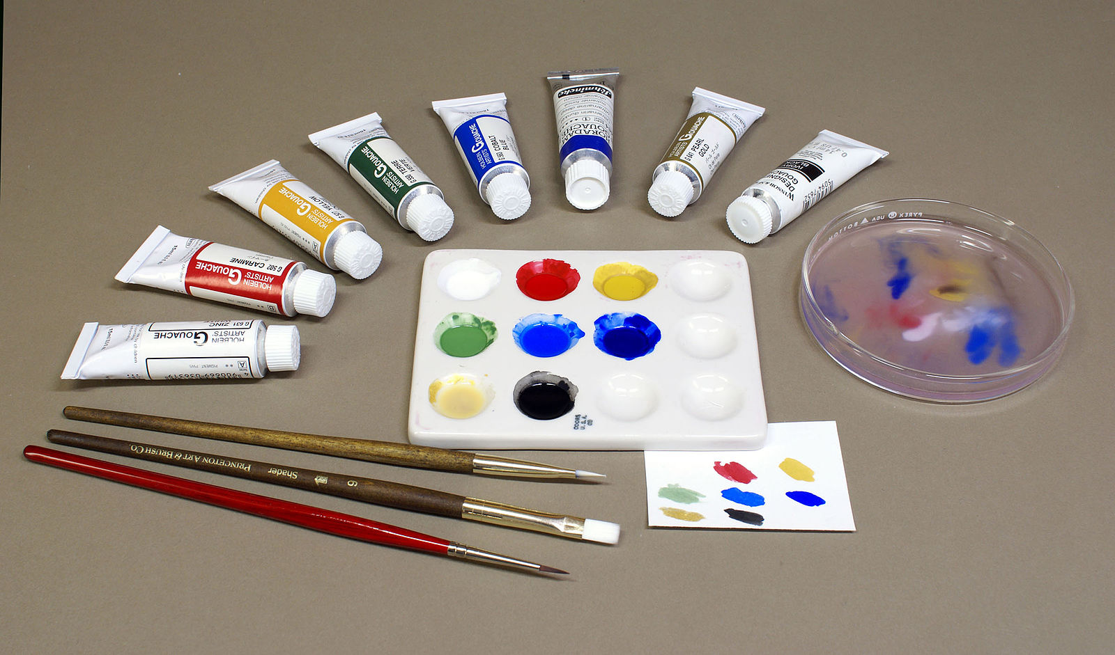 Difference Between Gouache and Watercolor