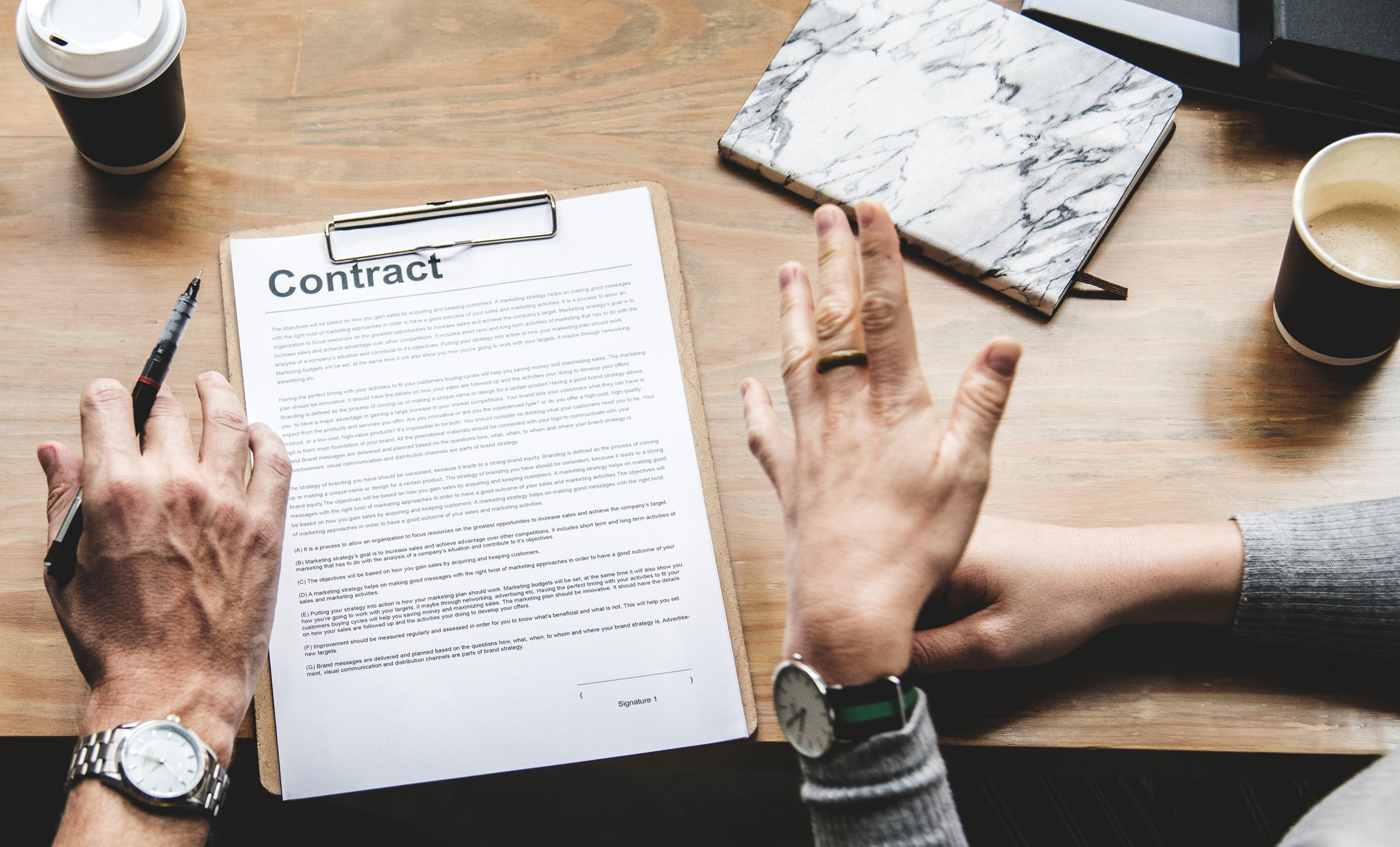 Difference Between Unilateral Contract and Bilateral Contract